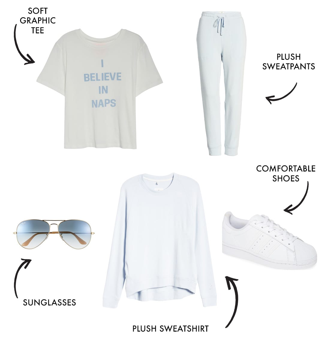 mom workout clothes and athleisure style look 8