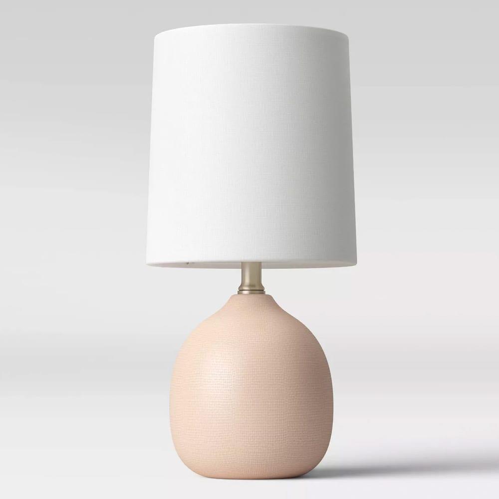 Textured Ceramic Mini Accent Lamp
