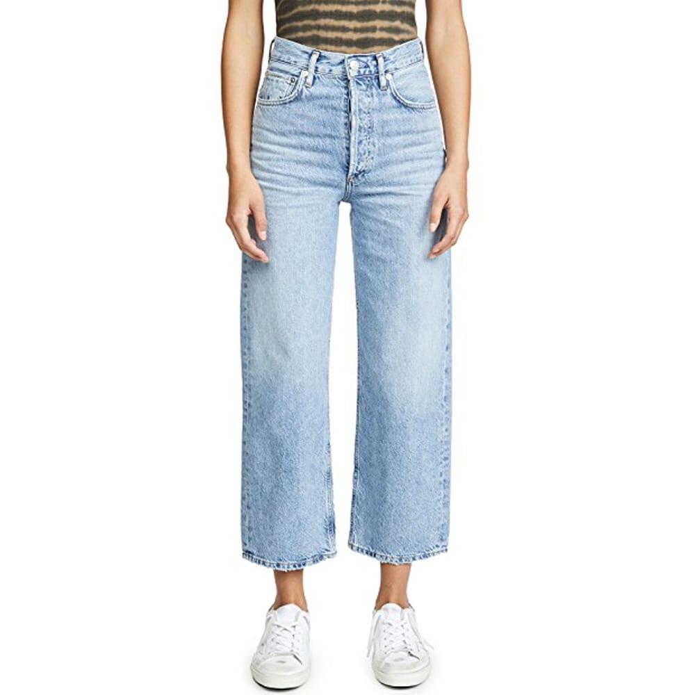 AGOLDE Ren Hi Rise Wide Leg Jeans