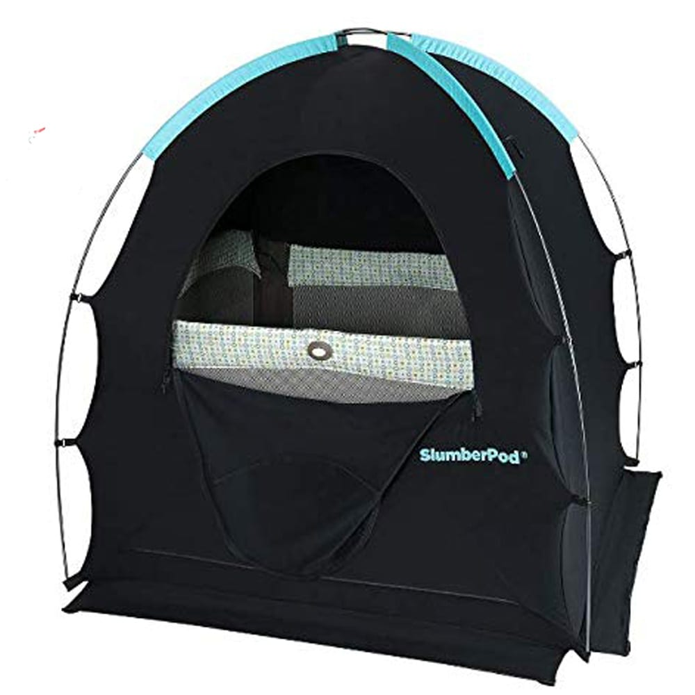 SlumberPod Privacy Pod for Traveling with Babies and Toddlers: Easy to Set Up Blackout Dark and Private Sleeping Space