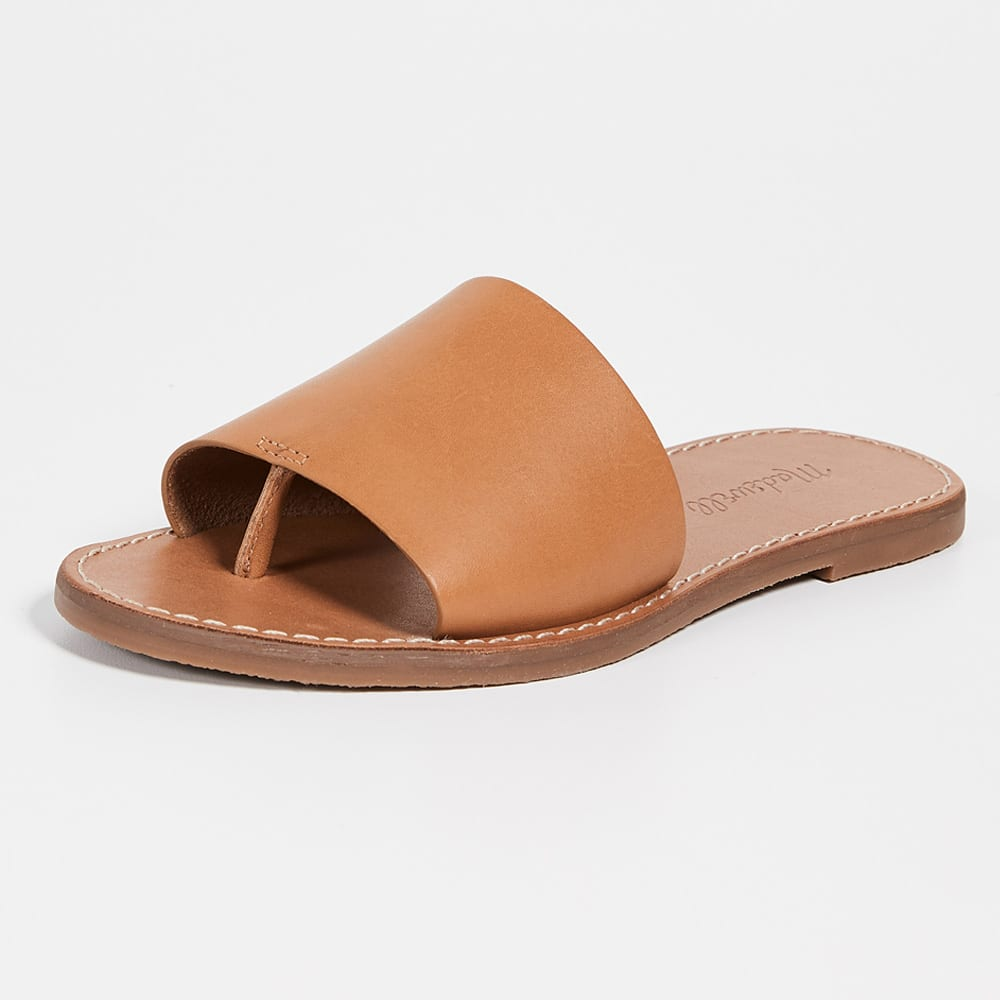 Madewell The Boardwalk Post Slide Sandals