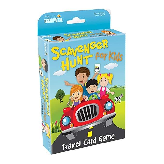 Briarpatch Travel Scavenger Hunt Card Game for Kids