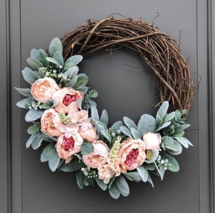 Spring Wreaths for Front Door
