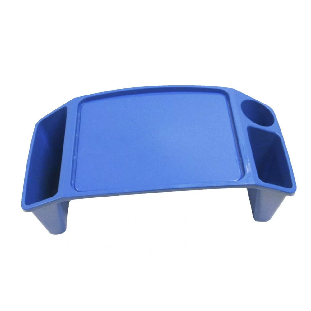 Dial Stackable Lap Tray, 8 x 21 x 12 Inches, Blue