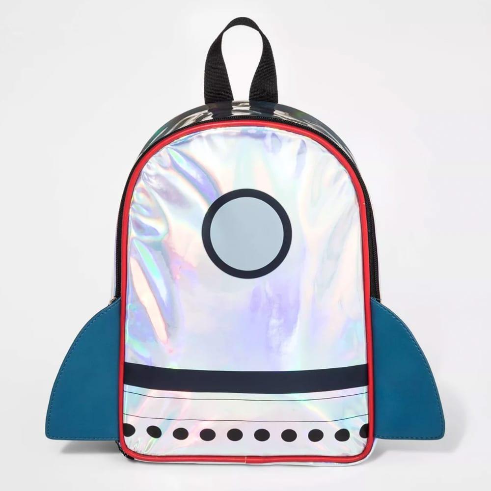 Toddler Boys' Rocket Backpack - Cat & Jack™ Silver