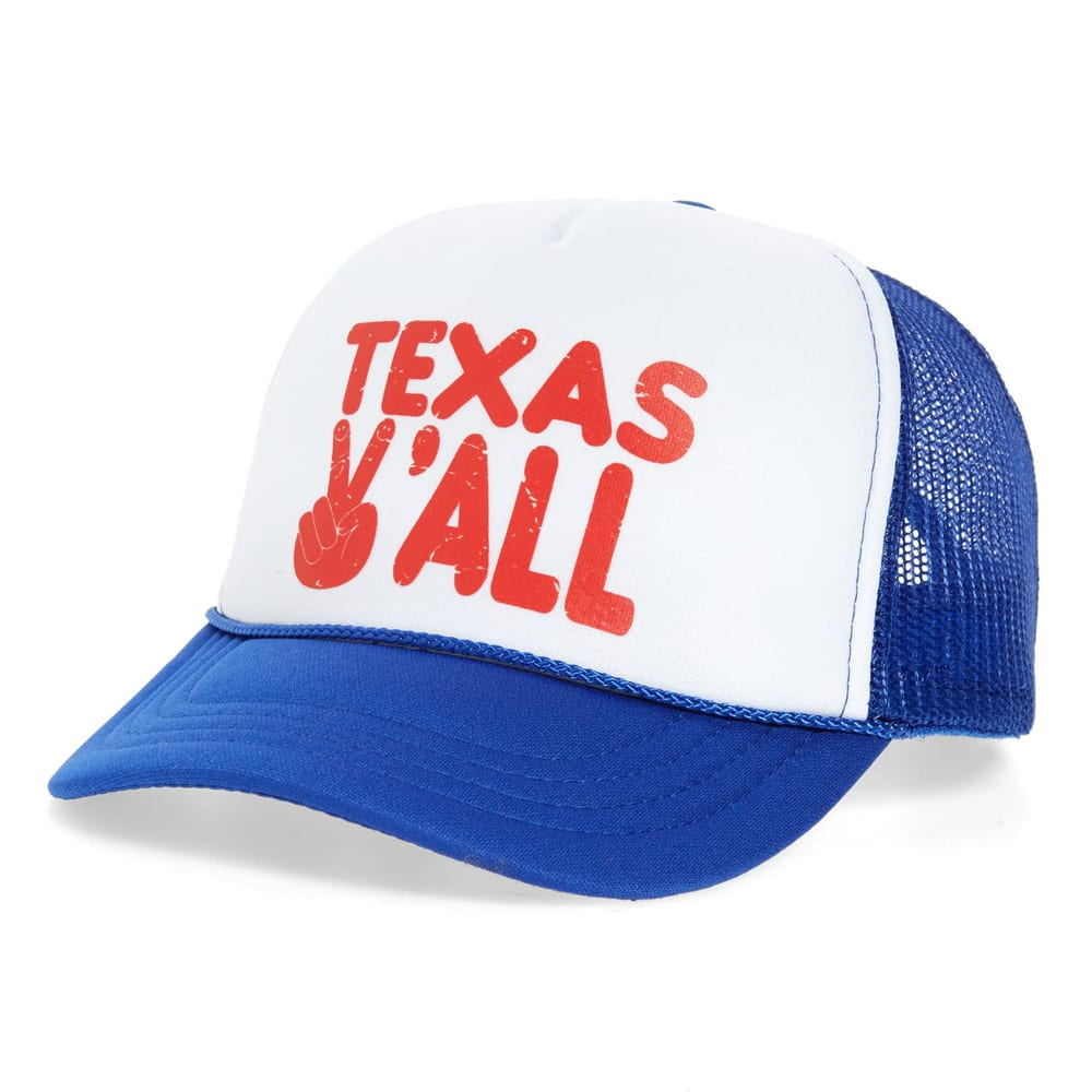 Texas Y'all Trucker Hat TINY WHALES