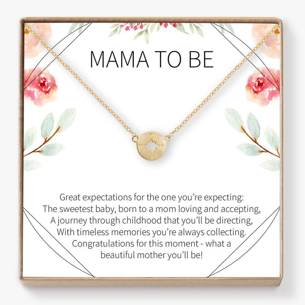 Gift for Expecting Moms Necklace
