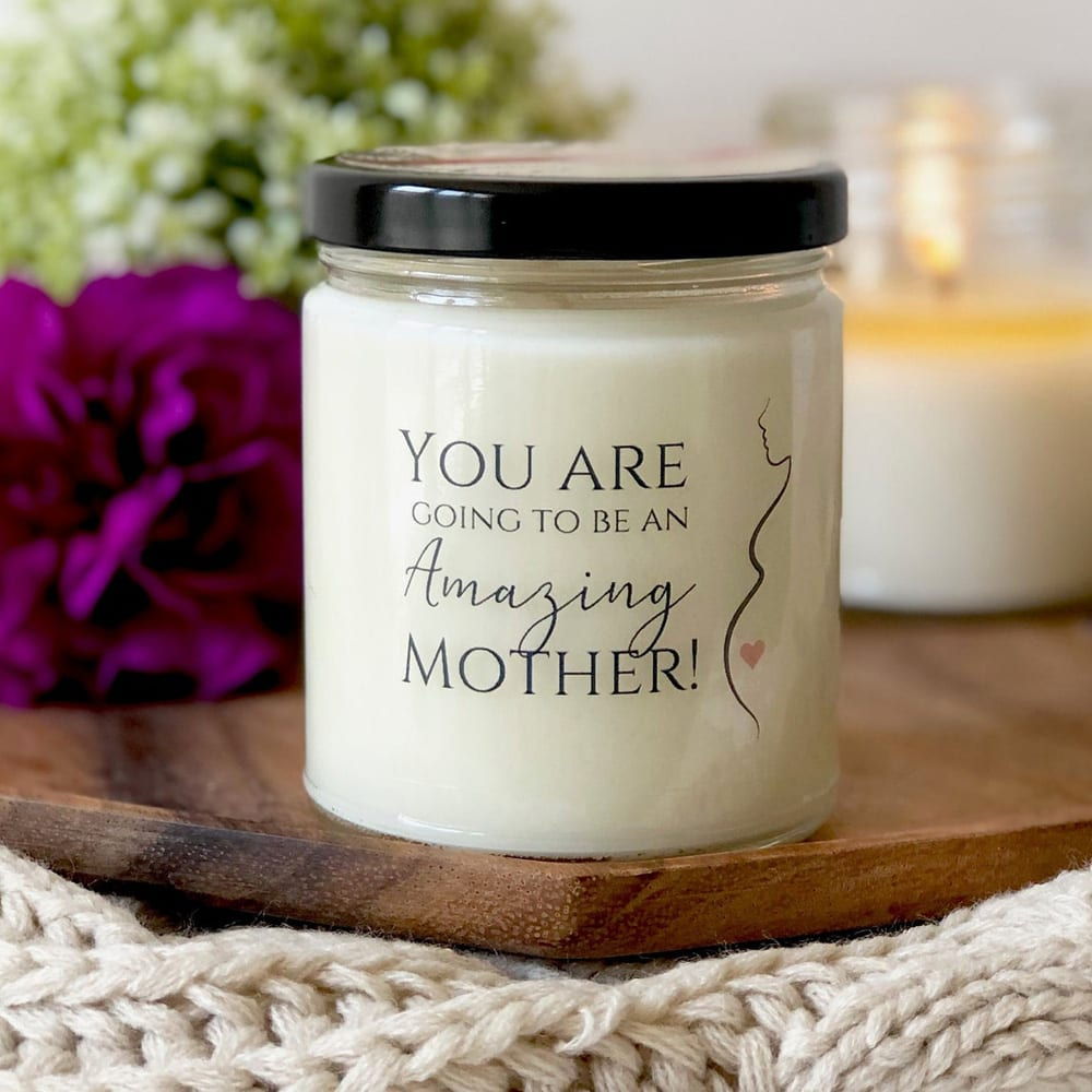 New Mom Soy Candle Gift