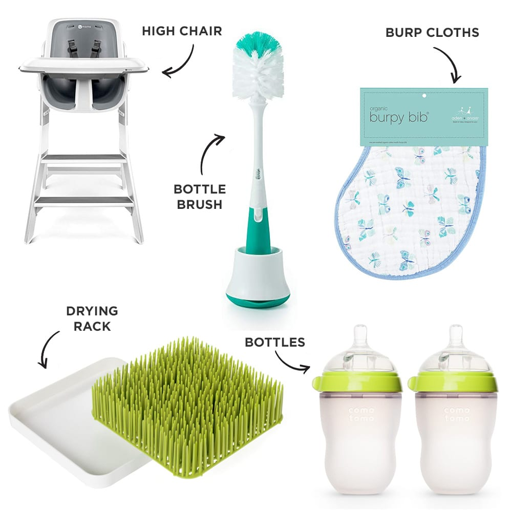 Baby Registry Bottle-Feeding Must-Have products