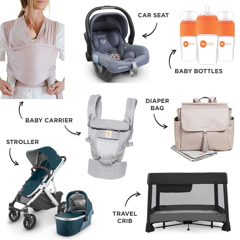 Baby Registry on-the-go Must-Haves