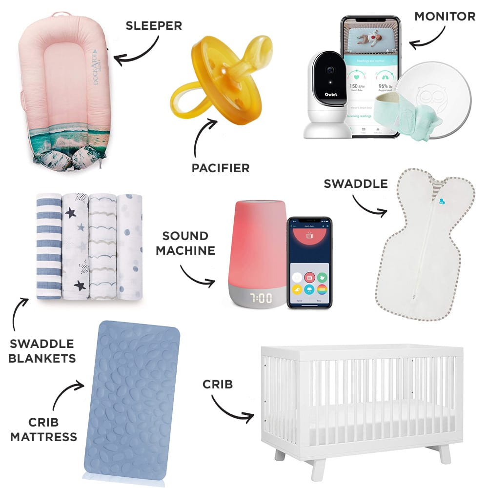 Baby Registry Sleep Must-Haves