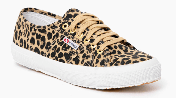 LEOPARD COW FANTASY SNEAKERS BY SUPERGA