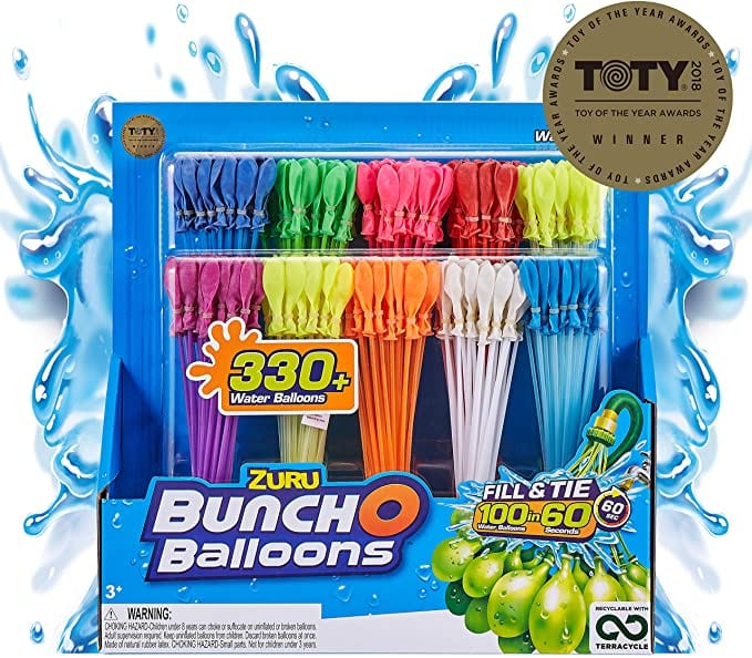 Bunch O Balloons - 350 Rapid-Fill Water Balloons (10 Pack)