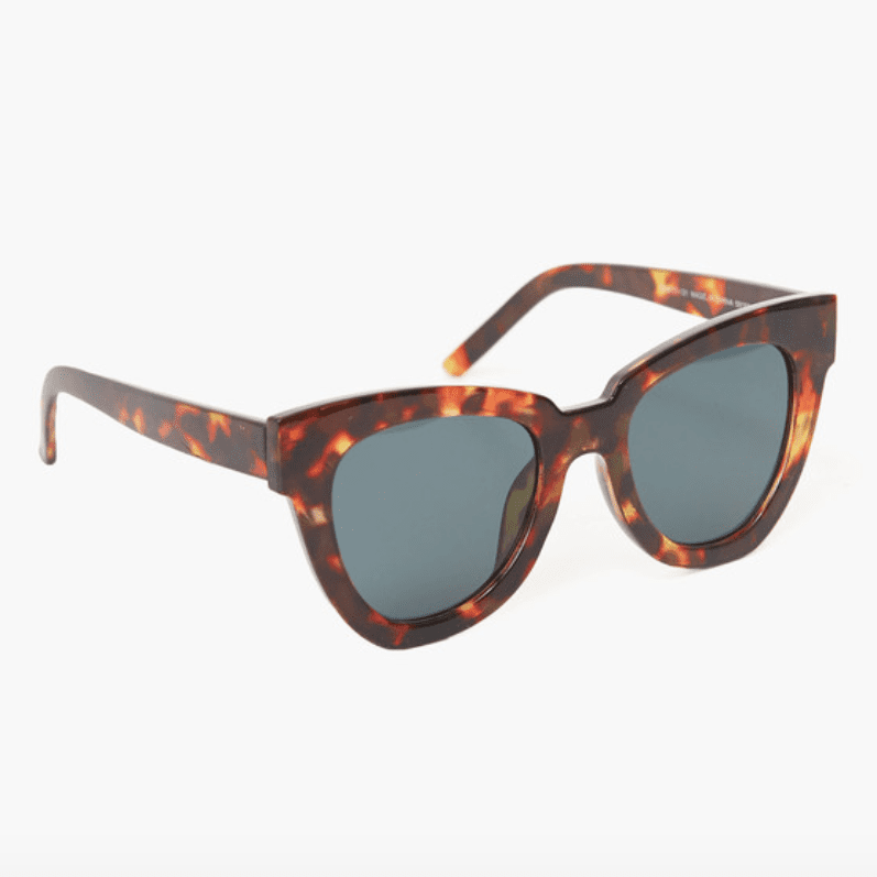 TORTOISE NOT STANDARD SUNGLASSES BY AJ MORGAN EYEWEAR