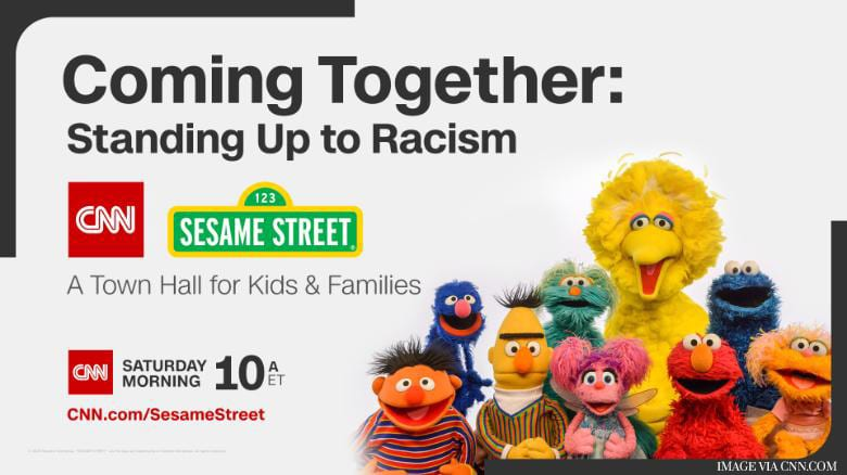 Sesame Street and CNN Team Up to Help Parents Explain Racism to Kids