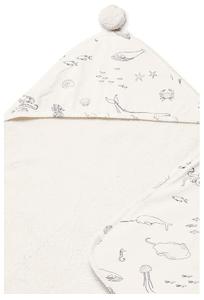 Pehr Life Aquatic Hooded Towel