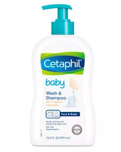 Cetaphil Baby 2-in-1 Hair Shampoo And Body Wash