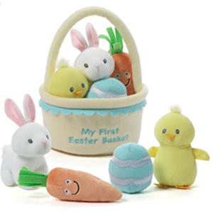 Baby GUND My First Easter Basket Playset