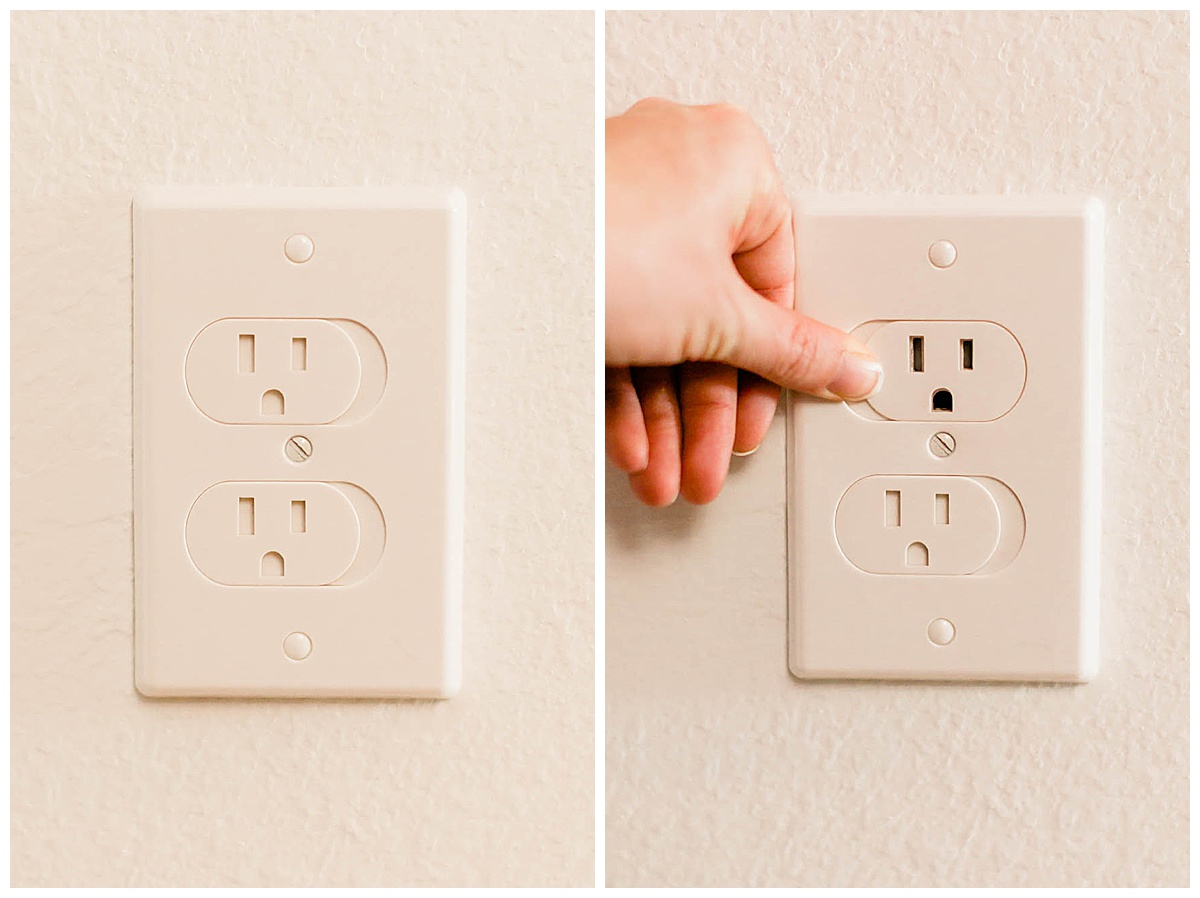 Qdos Universal Self Closing Outlet Cover