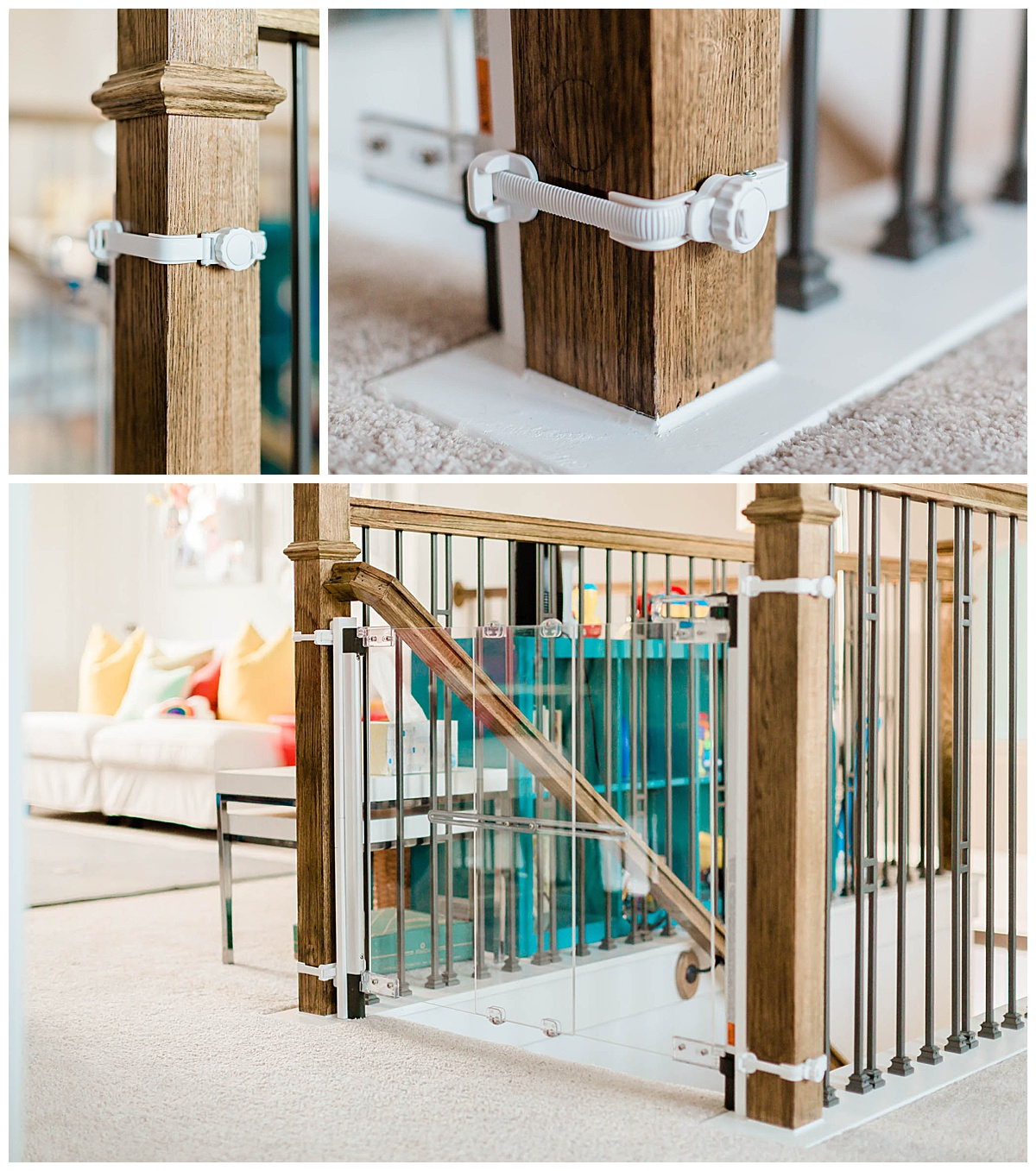 Crystal® Designer Baby Gate, Hardware Mount
