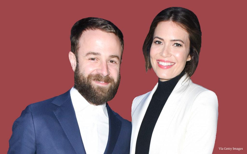 Mandy Moore and husband