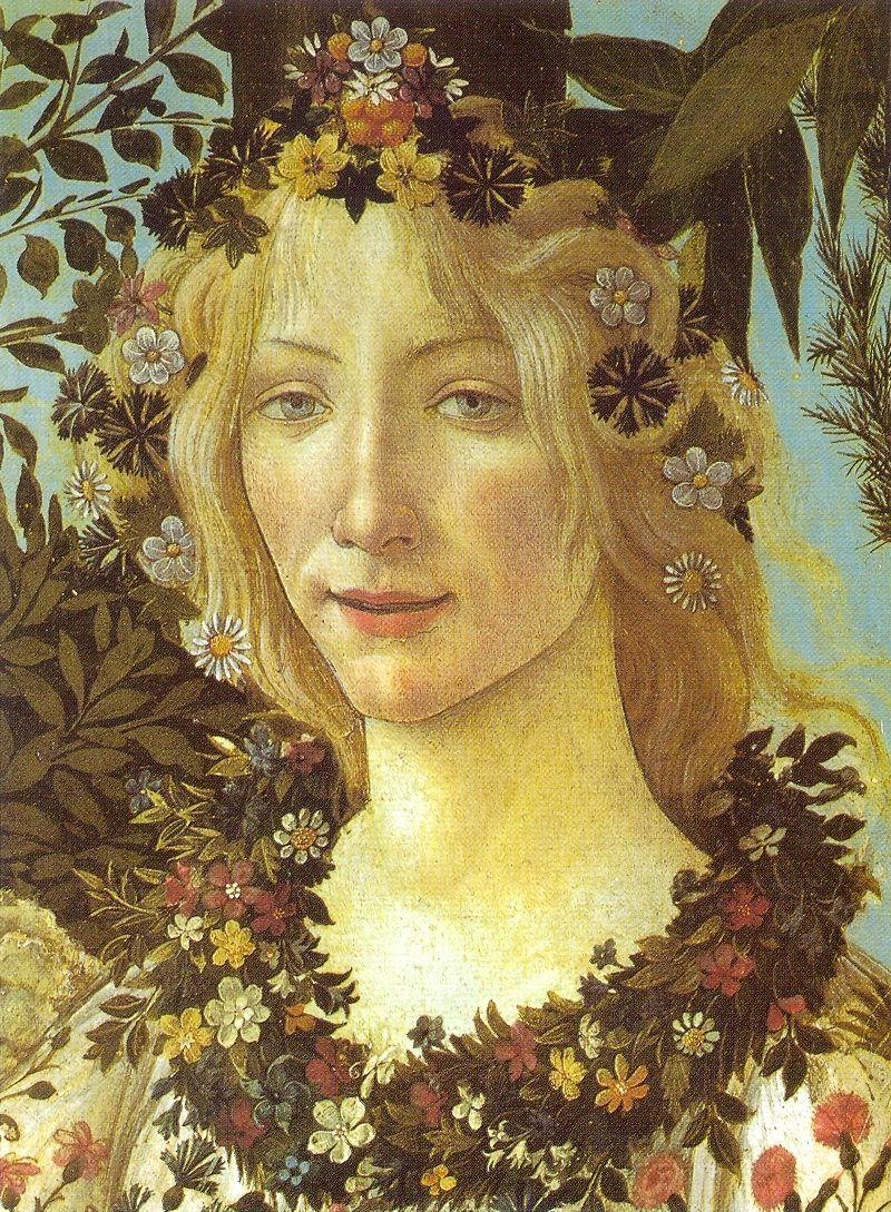 Tanrıça Maia, Paula Kuitenbrouwer tarafından boyanmıştır.