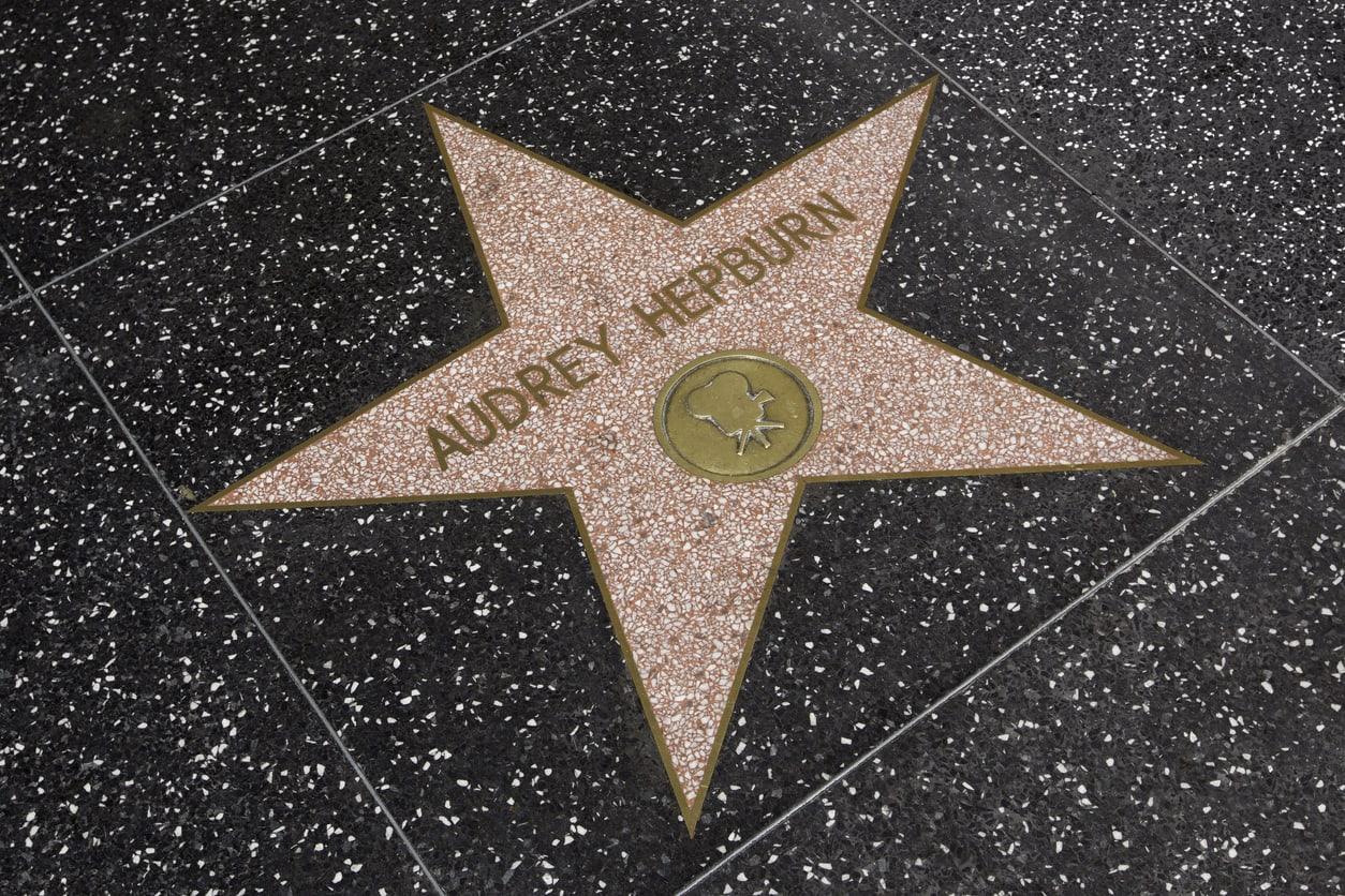 Audrey Hepburn, Şöhret Kaldırımı